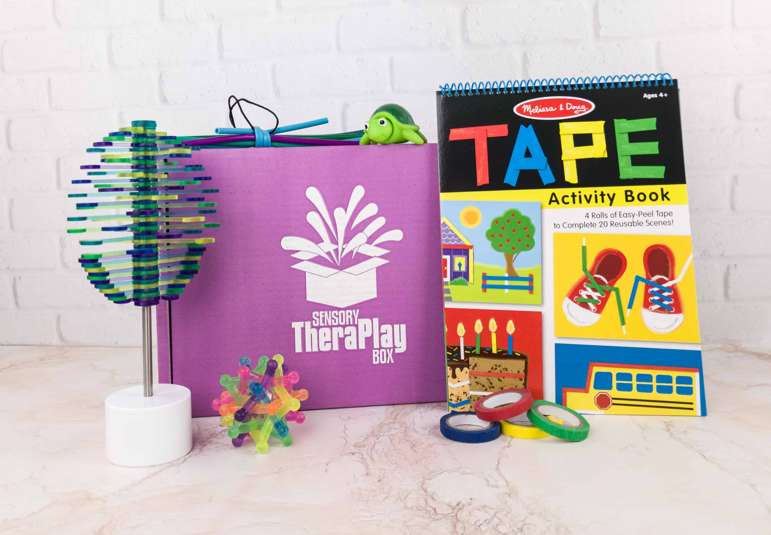 Sensory TheraPLAY Box December 2017 Subscription Box Review + Coupon