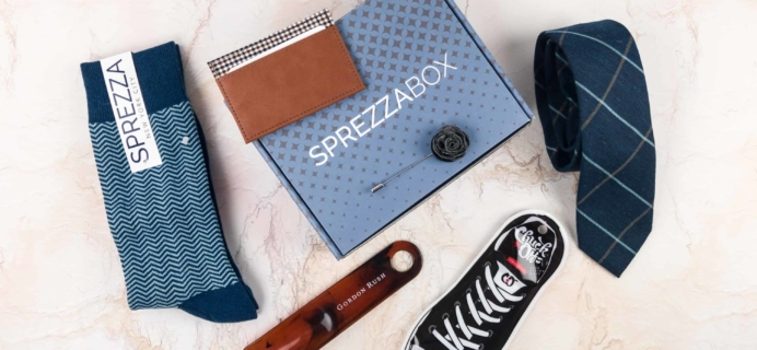 SprezzaBox Subscription Box Review + Coupon – December 2017