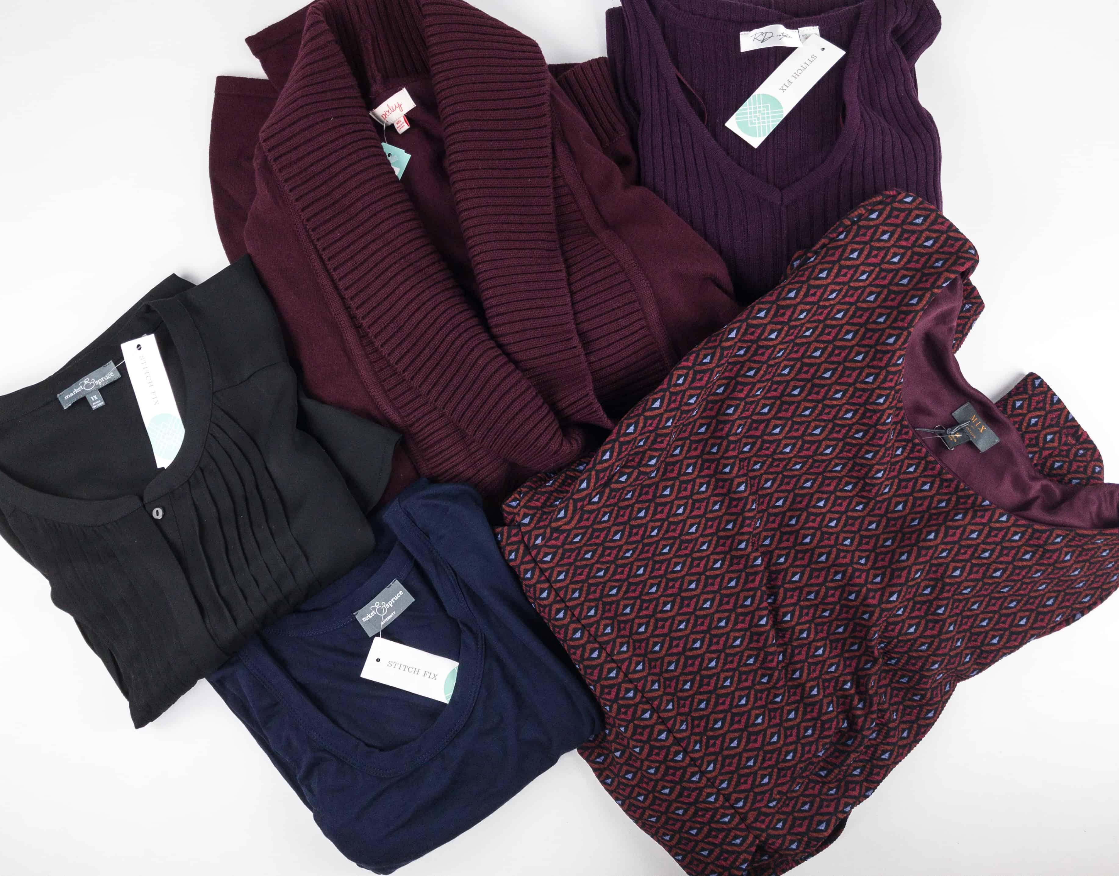 December 2017 Stitch Fix Subscription Box Review {Maternity/Plus} + Try It Free Deal!