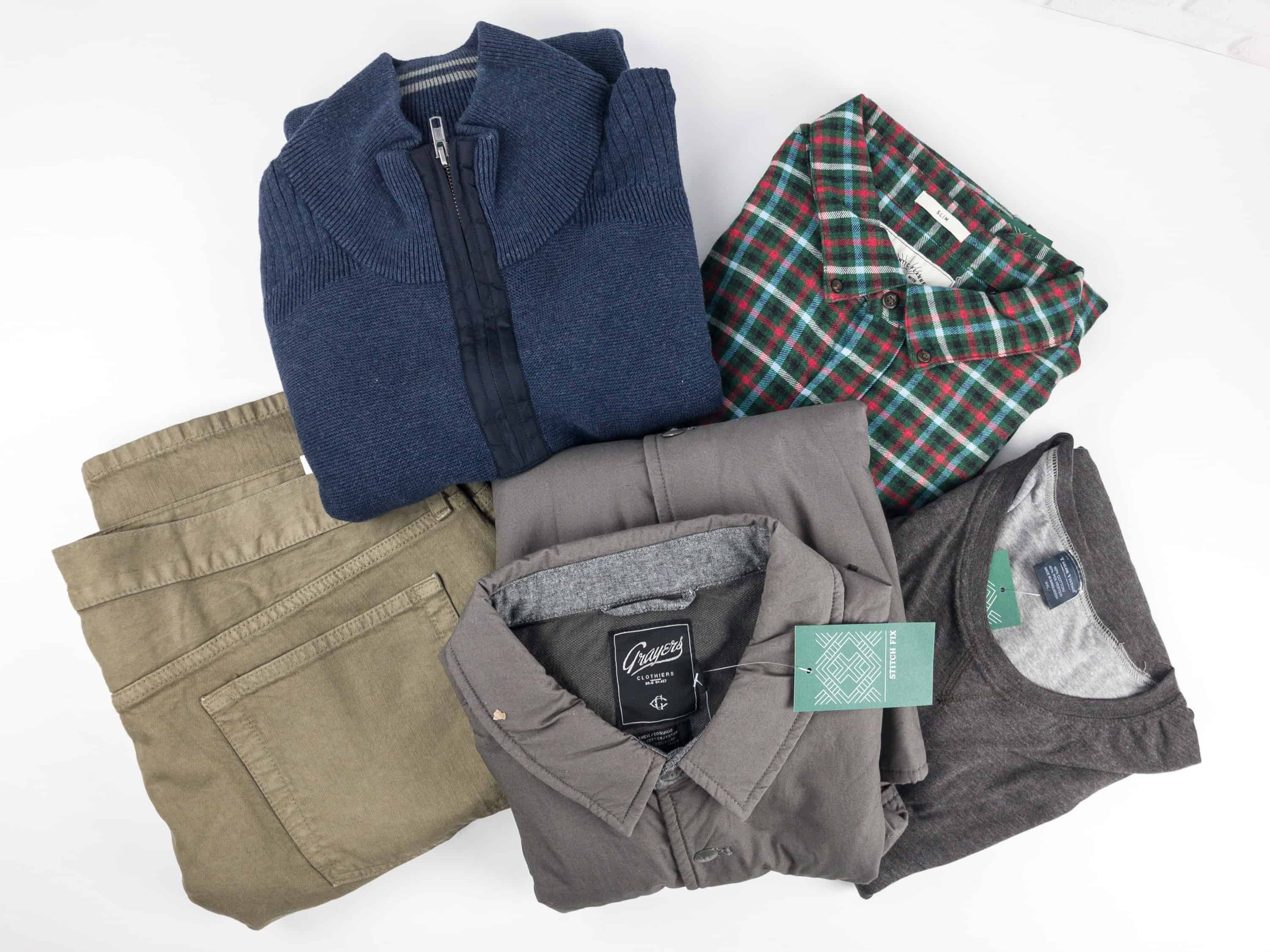 Stitch Fix Men December 2017 Review