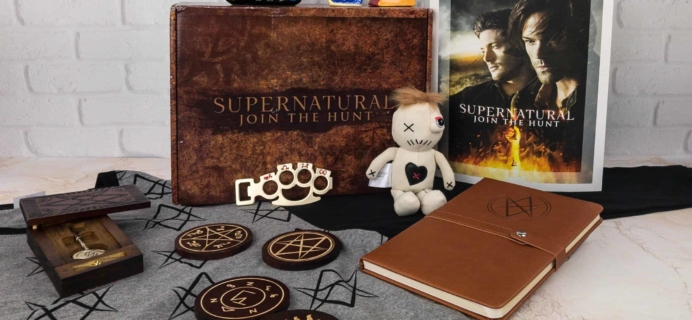 Supernatural Box Winter 2017 Review