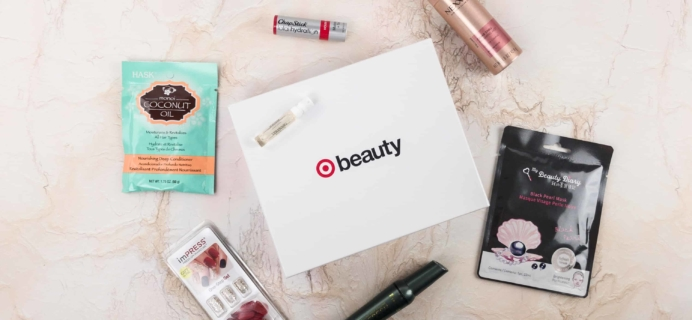 Target Holiday Beauty Box December 2017 Review