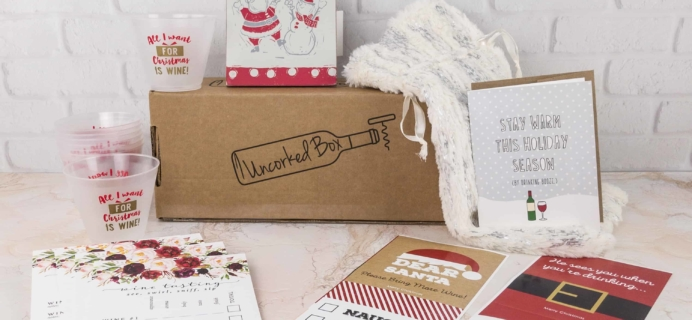 Uncorked Box Cyber Monday Coupon: 30% Off Subscriptions!