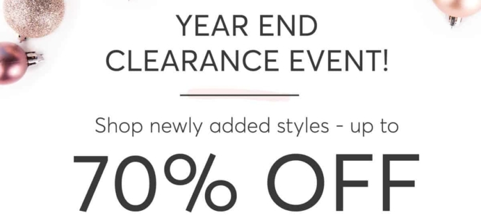RocksBox Year End Clearance SALE – Up To 70% OFF!