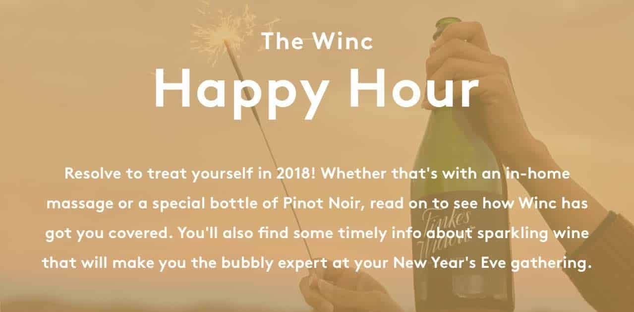 Winc New Year SALE: Get $20 OFF On First Order!