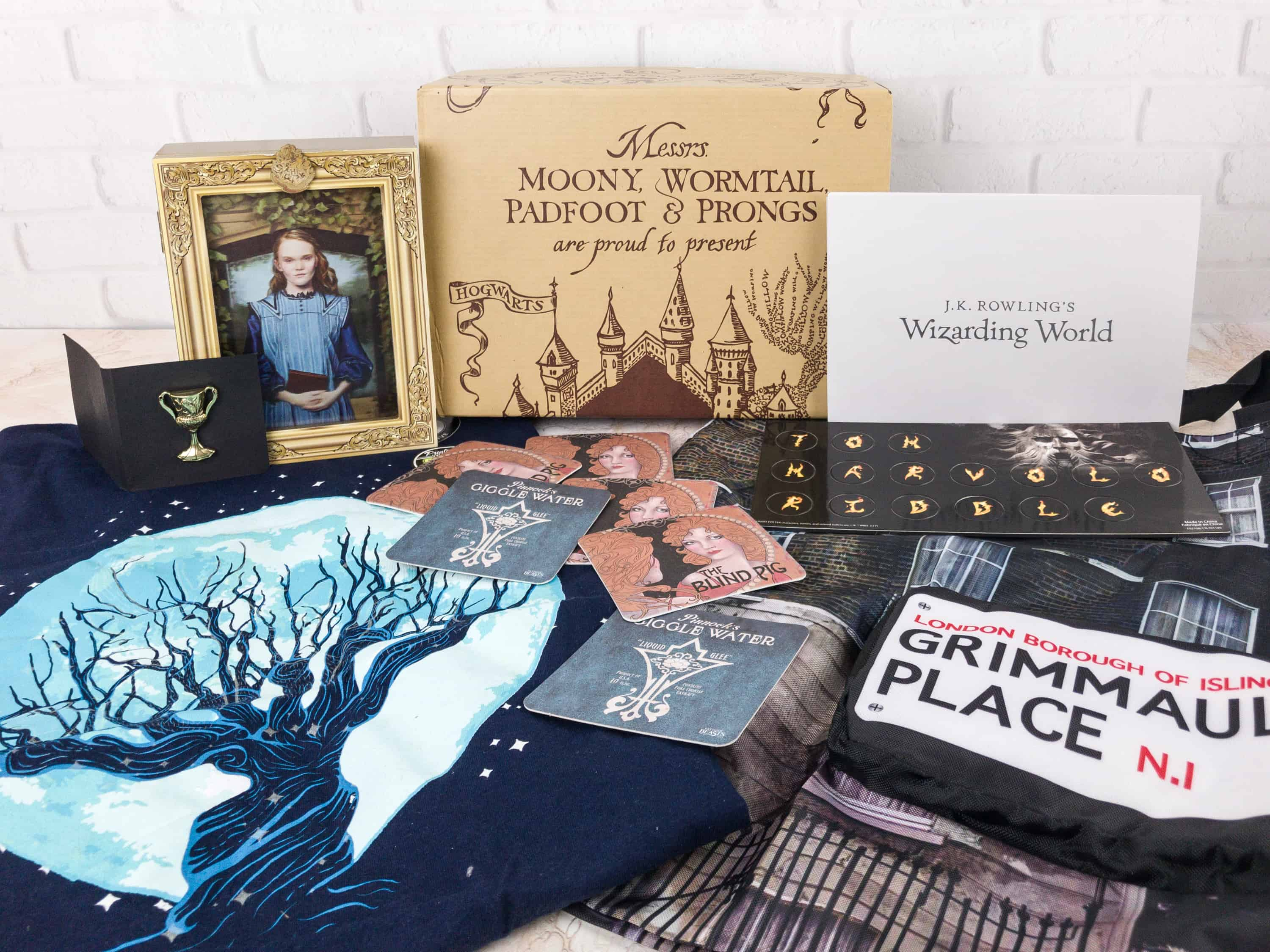 JK Rowling's Wizarding World Crate November 2017 Review + Coupon