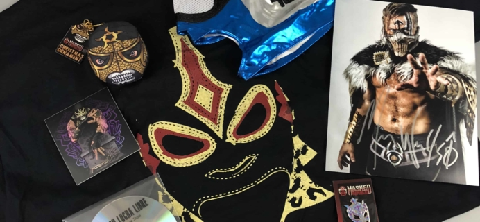 Lucha Loot Subscription Box Review & Coupon – December 2017