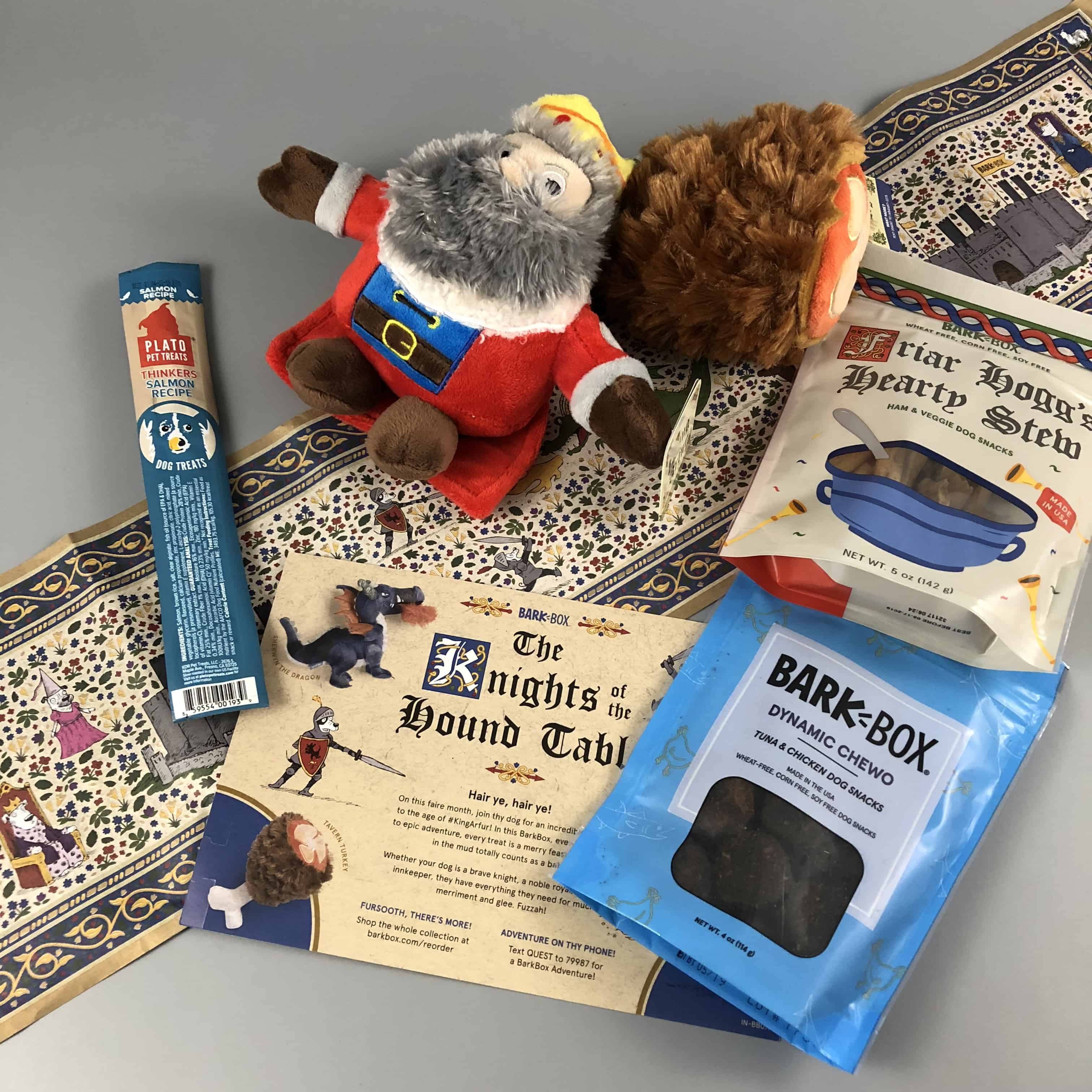 Barkbox January 2018 Subscription Box Review + Coupon – Large Dog