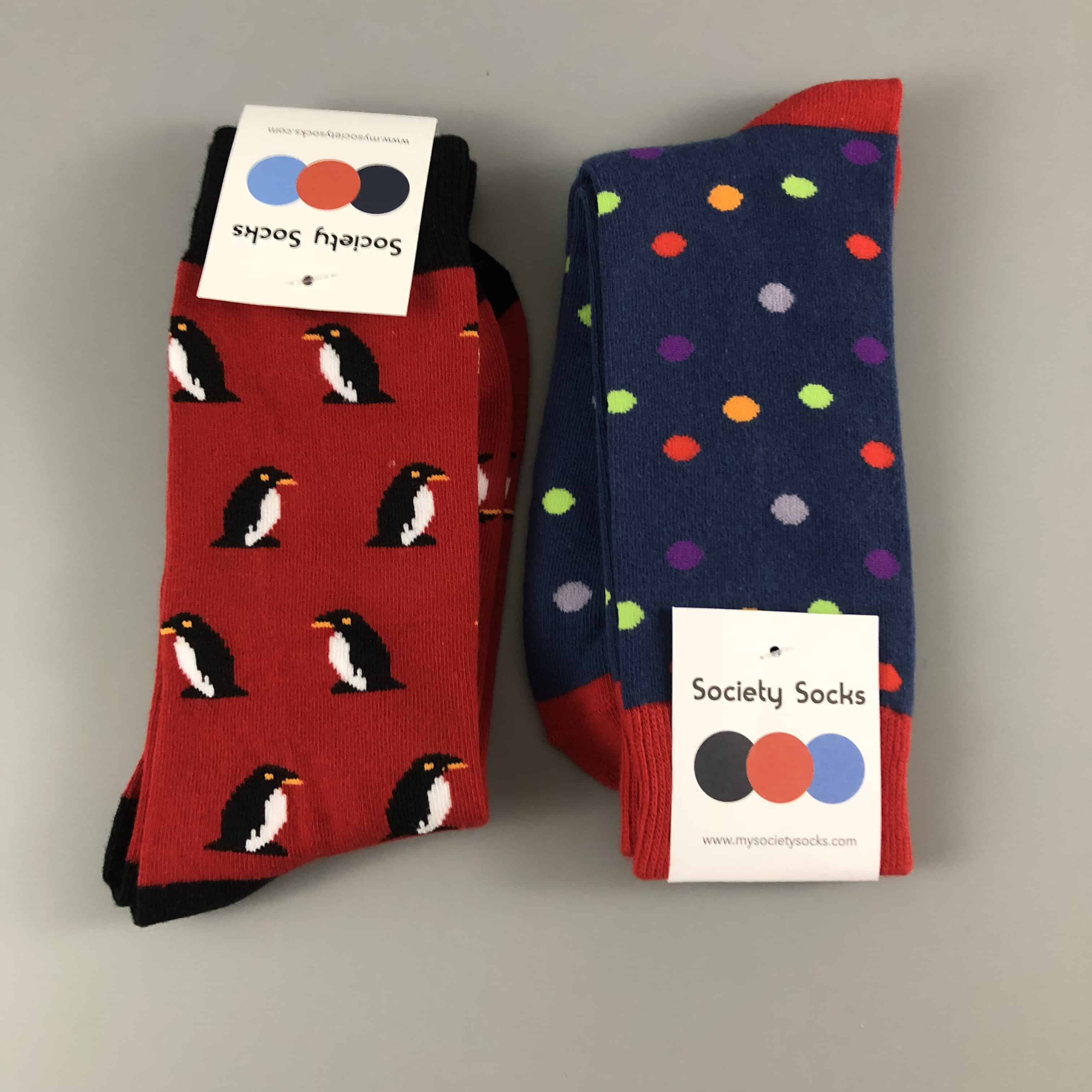 Society Socks January 2018 Subscription Box Review + 50% Off Coupon