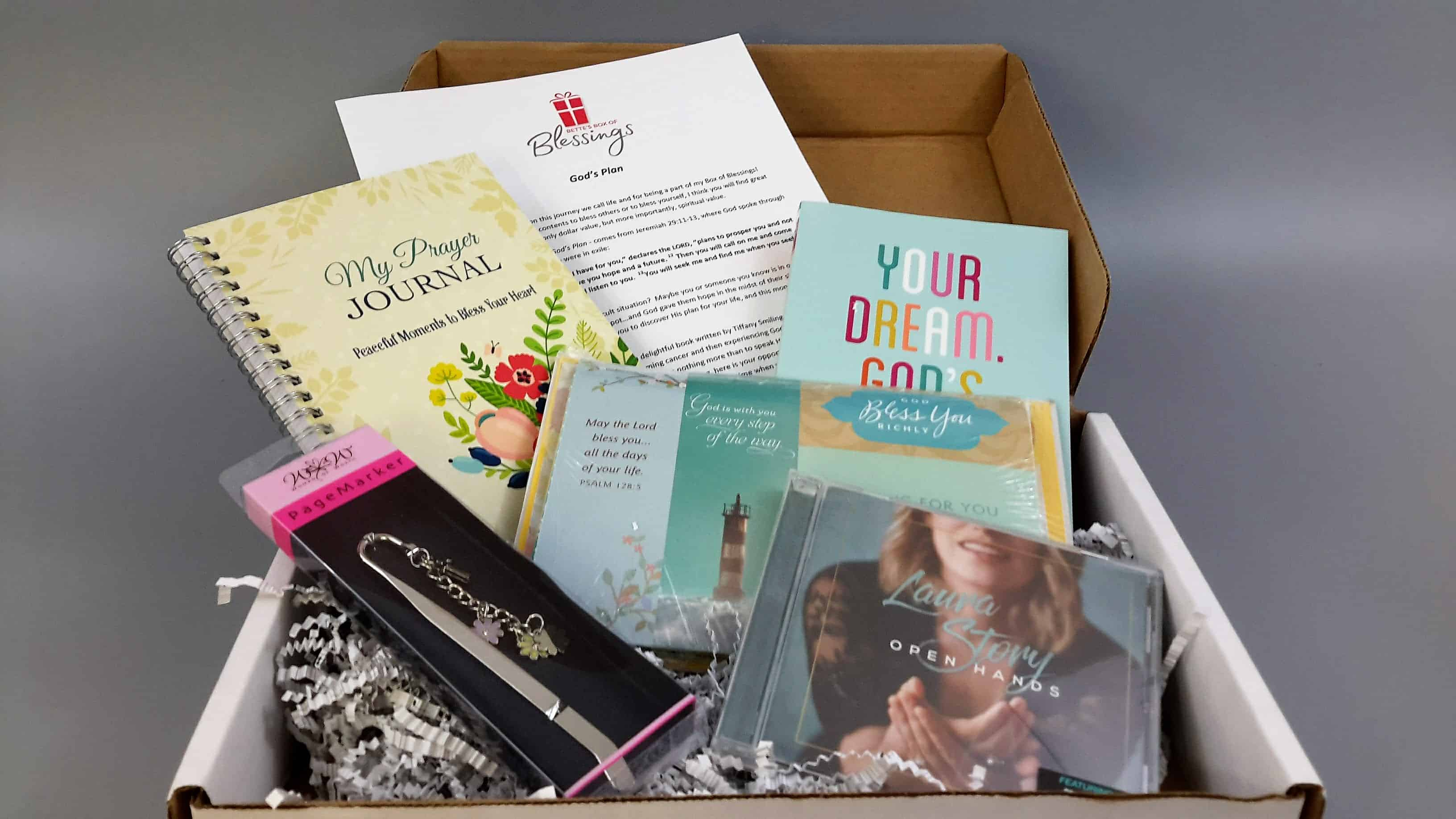 Bettes box of blessings subscription box review coupon january deal get 5 off your first months box use coupon code hello fandeluxe Choice Image