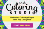 Posh Coloring Studio Deal: Posh Coloring Studio Free Trial Coupon!