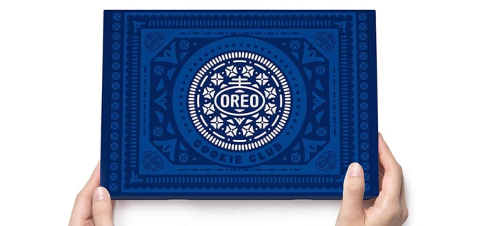 New Subscription Boxes: OREO Cookie Club Subscription Box Available Now!