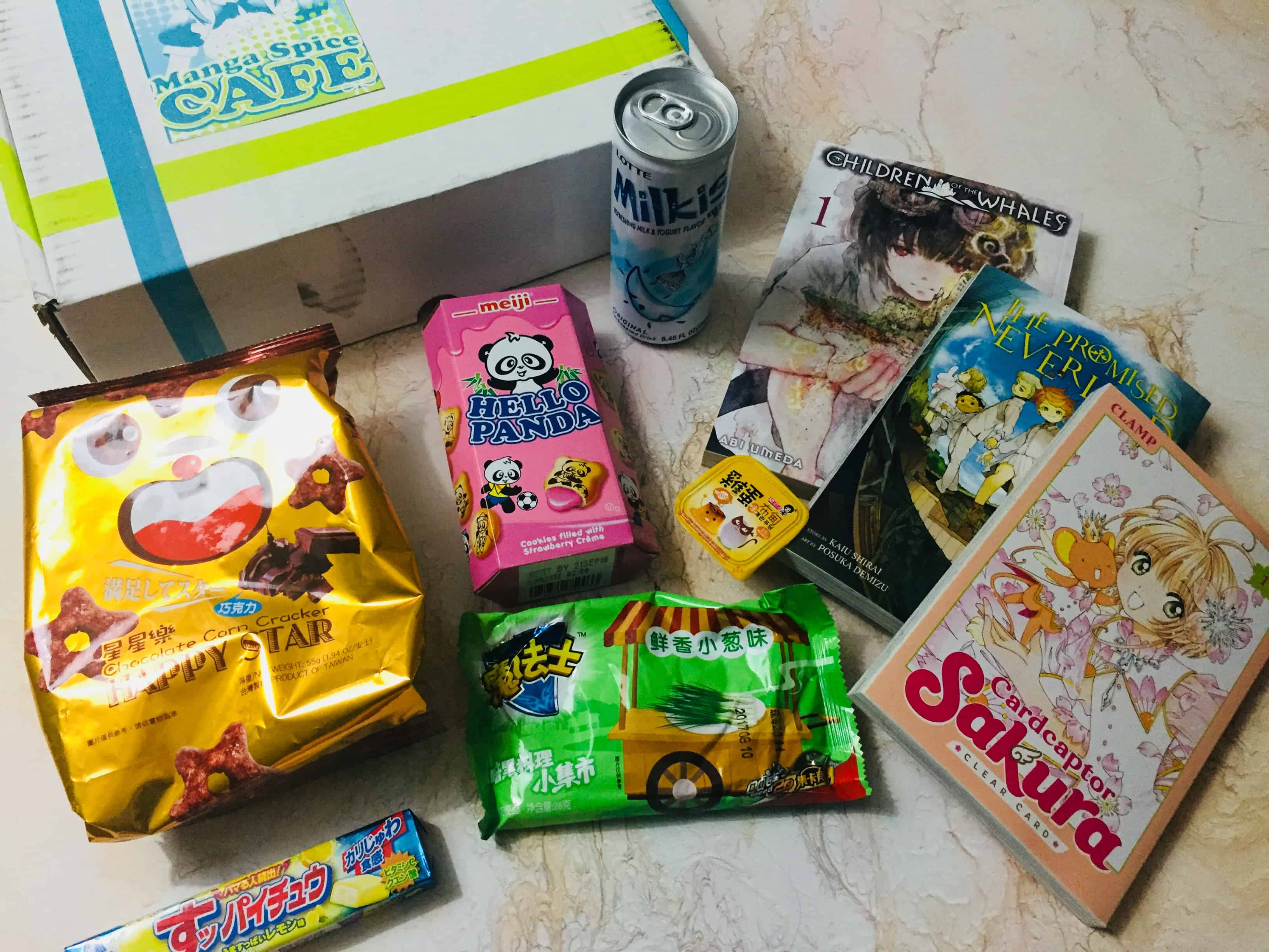 Manga Spice Cafe December 2017 Subscription Box Review