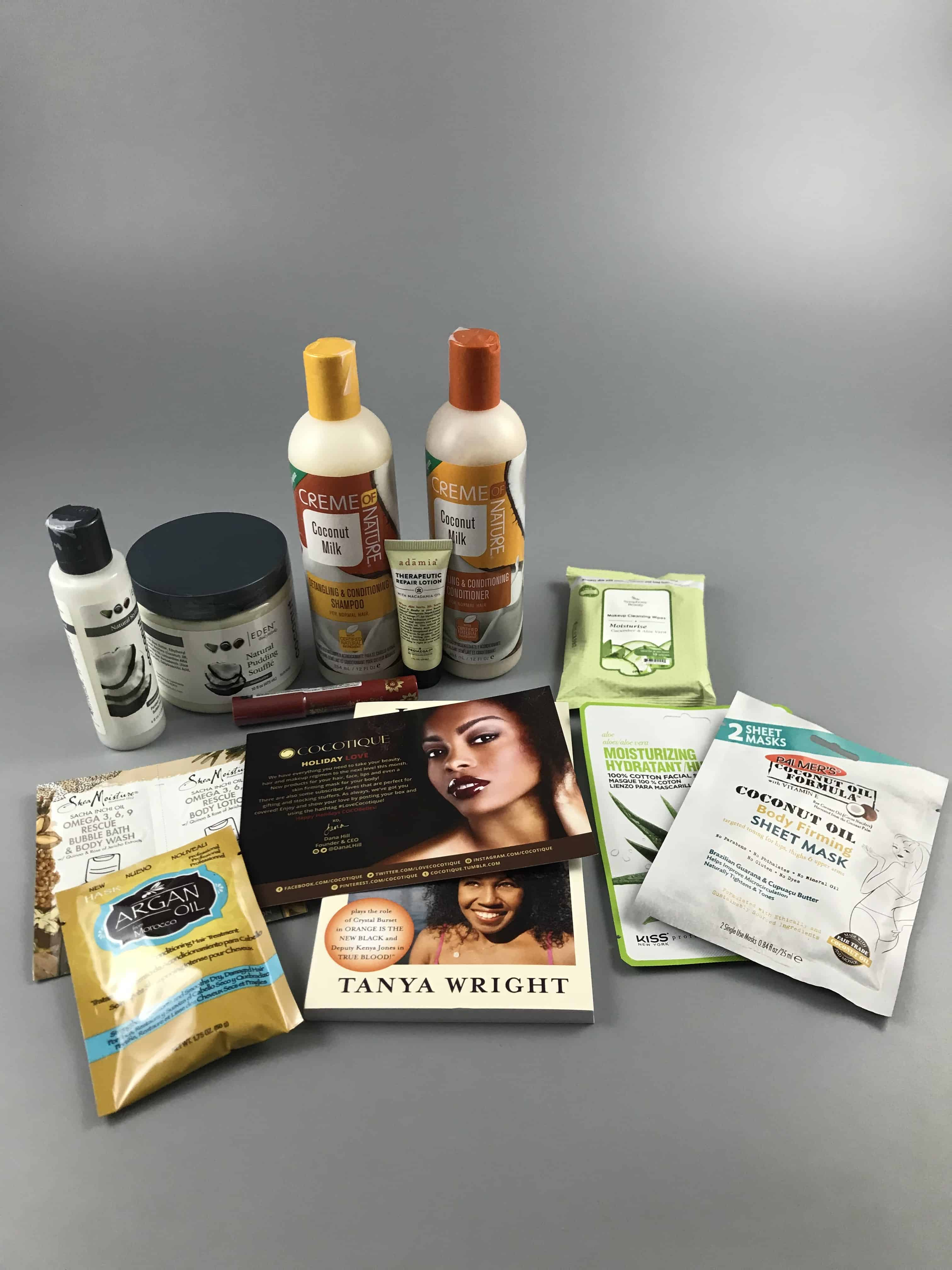 COCOTIQUE December 2017 Subscription Box Review + Coupon