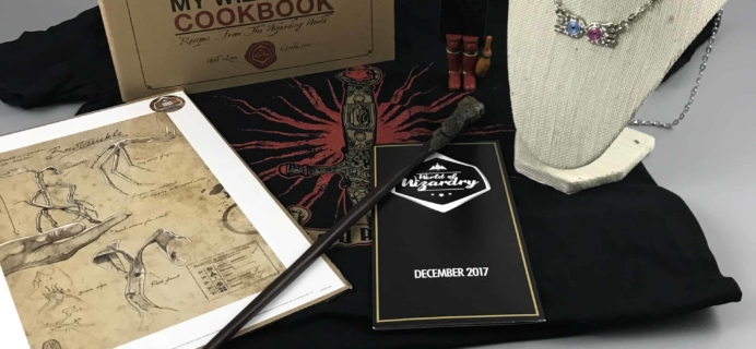 Geek Gear World of Wizardry  December 2017 Subscription Box Review