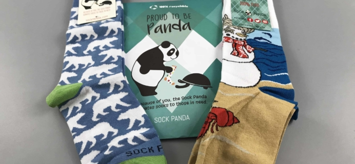 Sock Panda Tweens January 2018 Subscription Review + Coupon