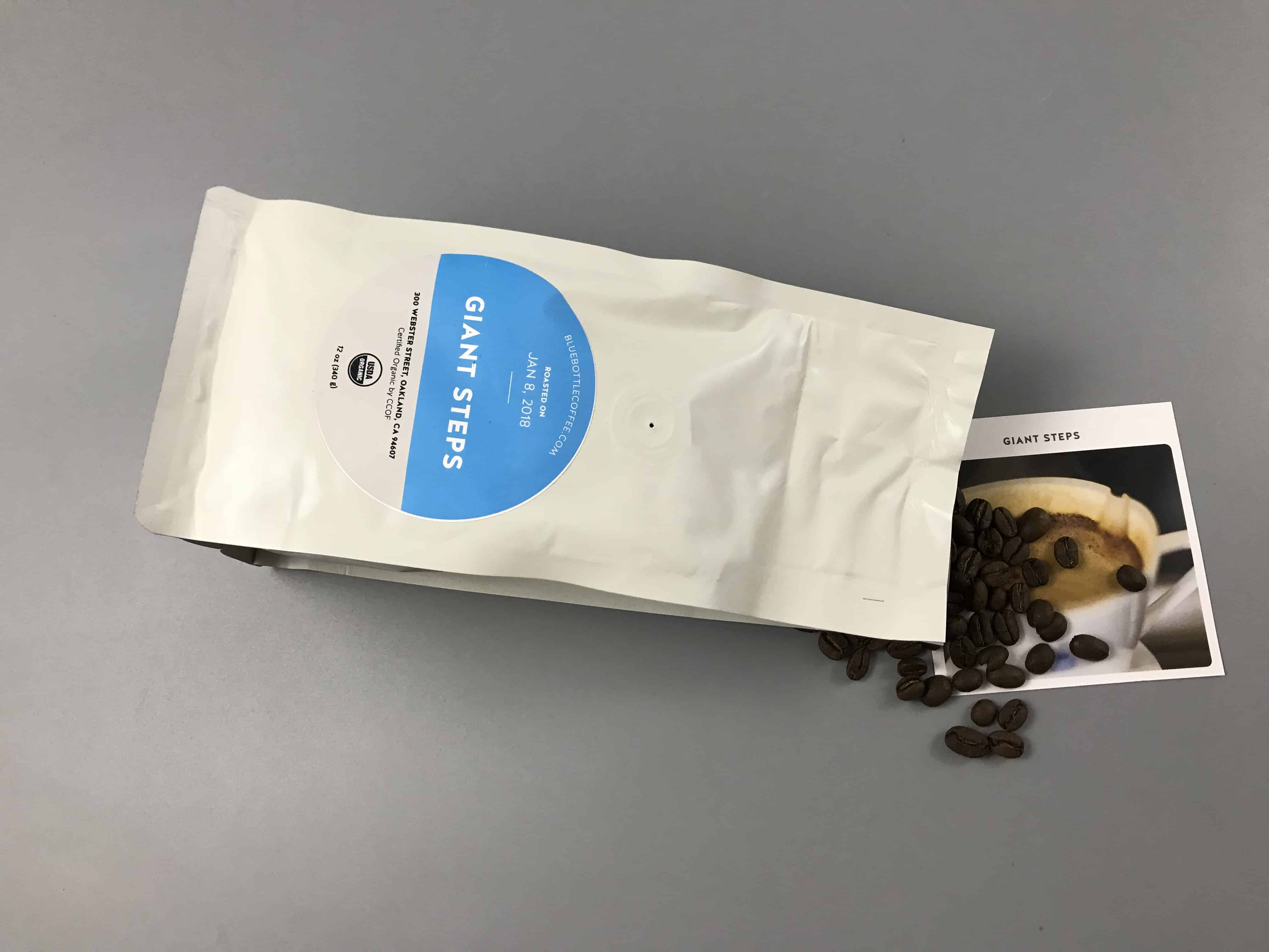 Blue Bottle Coffee January 2018 Review + Free Trial Deal