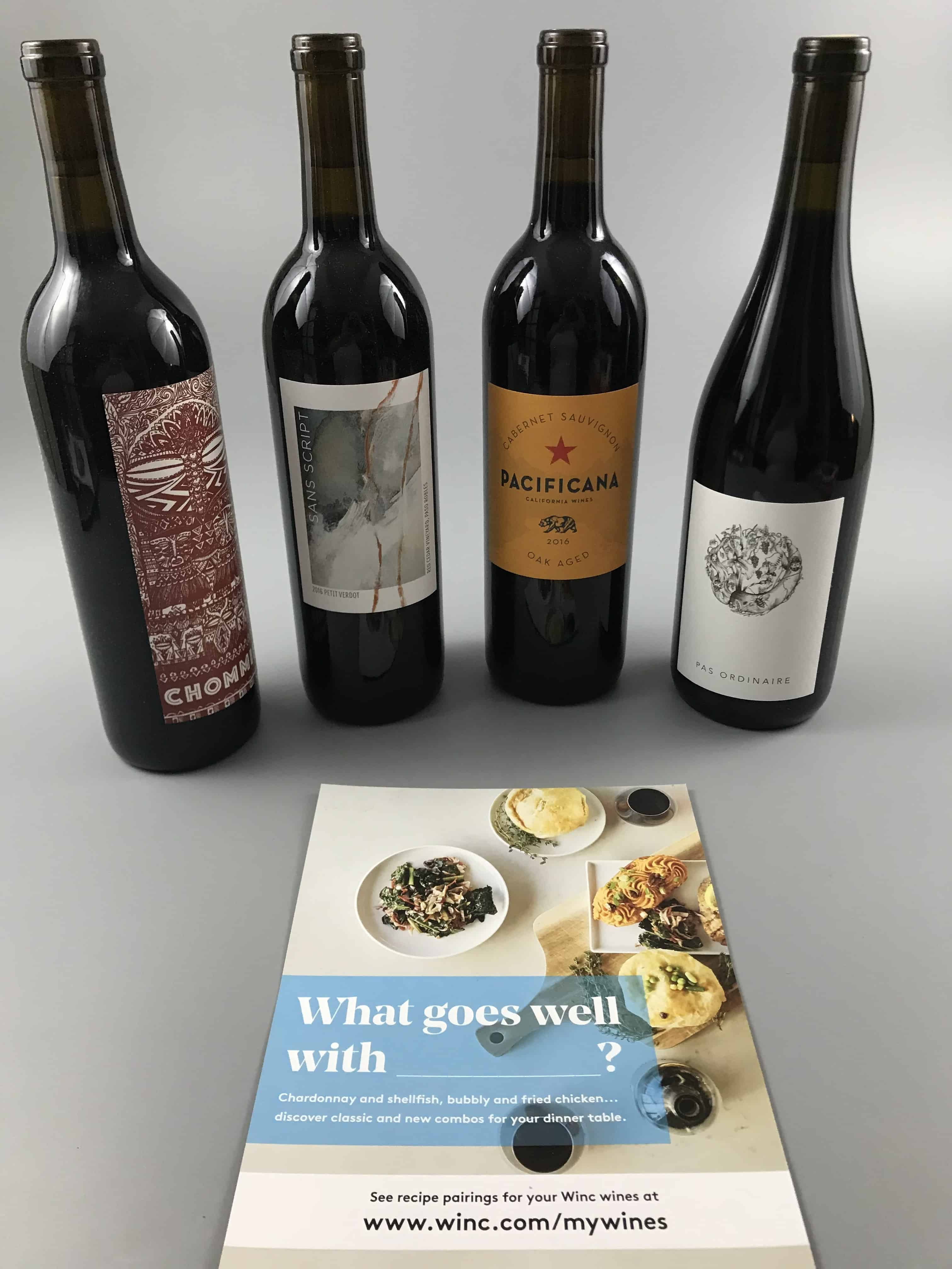 Winc January 2018 Subscription Box Review & $22 Off Coupon