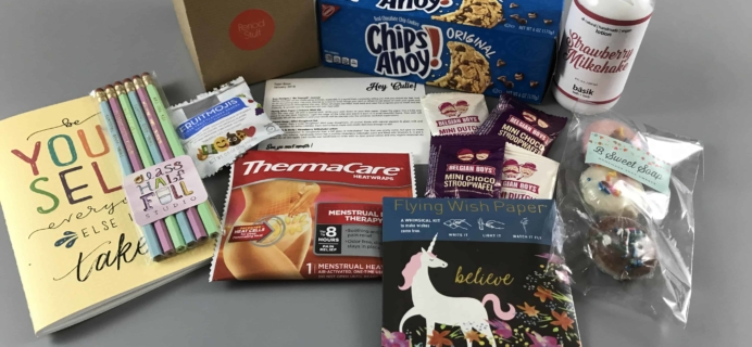 Dot Boxx January 2018 Subscription Box Review + Coupon – Hey Cutie