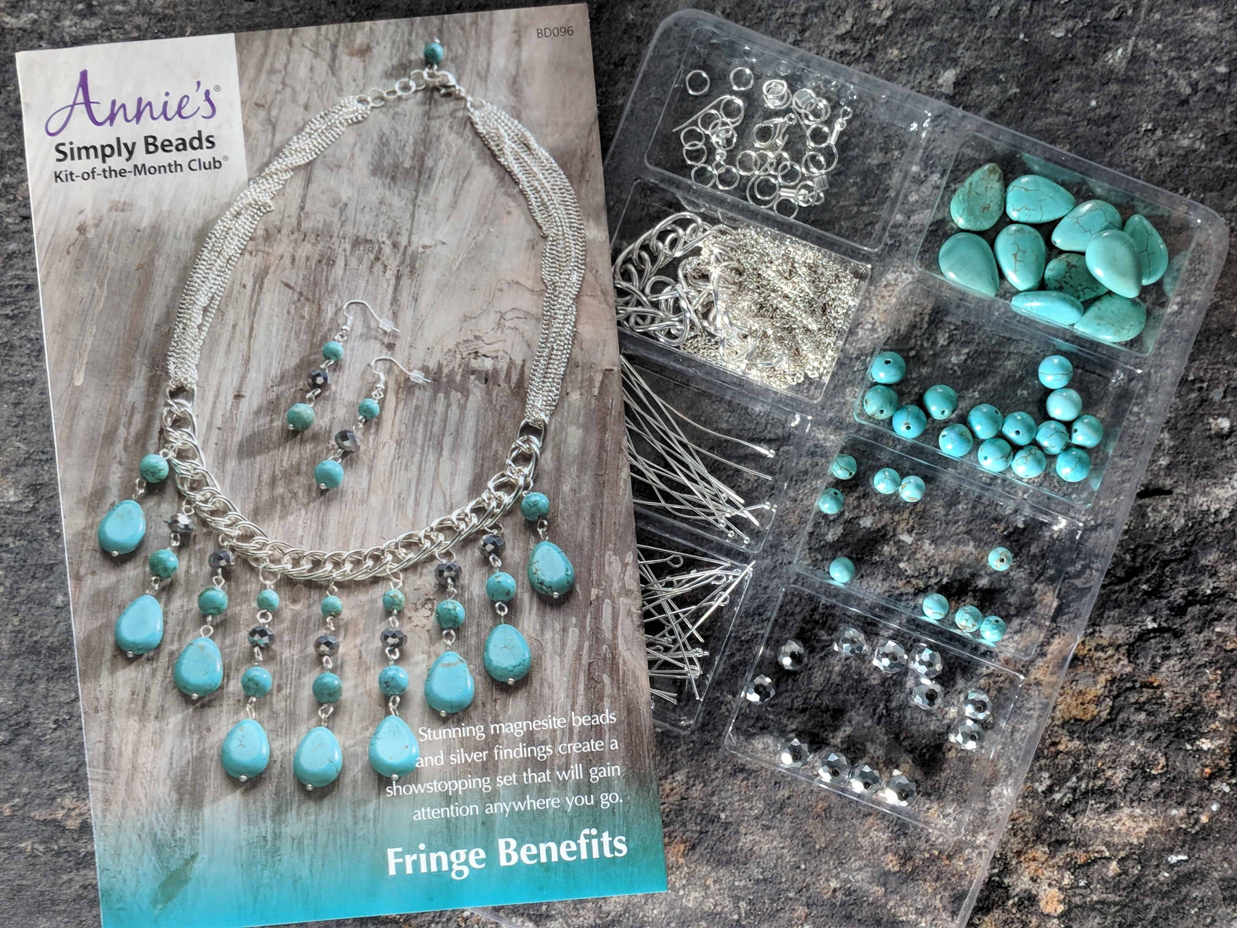 Annie's Simply Beads Kit-of-the-Month Club Subscription Box Review – November 2017