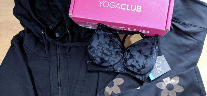 YogaClub Subscription Box Review + Coupon – December 2017