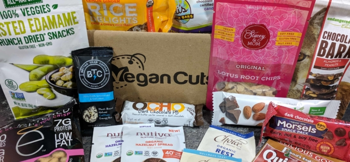 Vegan Cuts Snack Box December 2017 Subscription Box Review