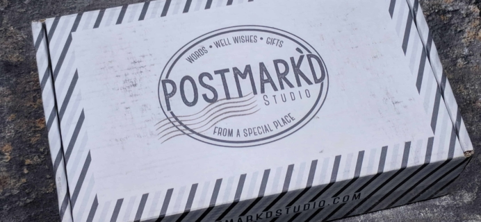 Postmark'd Studio PostBox March 2018 Spoilers + Coupon!