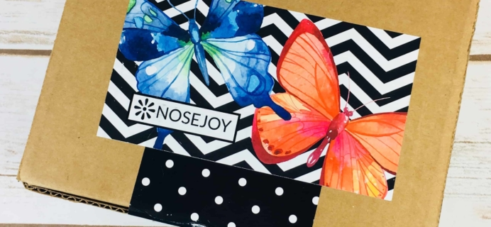 NOSEJOY January 2018 Subscription Box Review + Coupon!