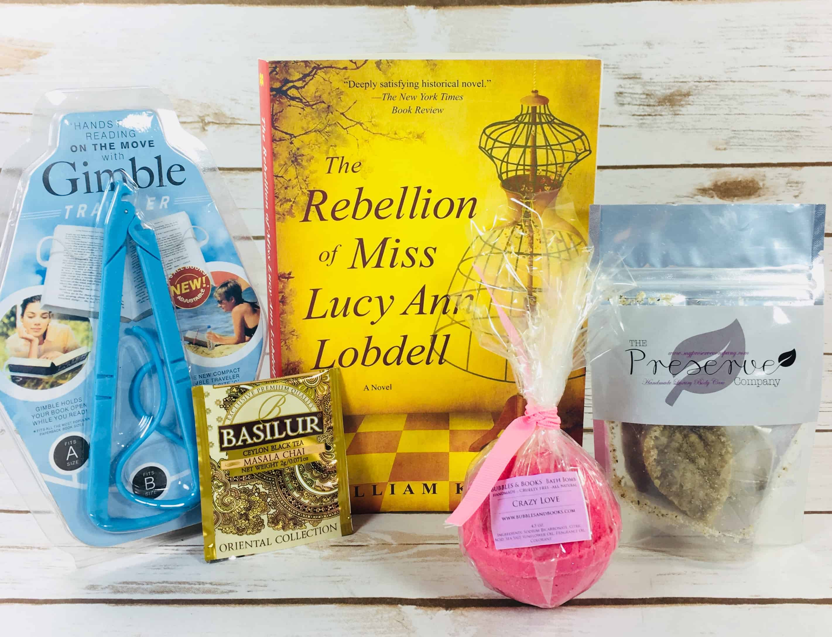 Bubbles & Books Subscription Box Review + Coupon – January 2018
