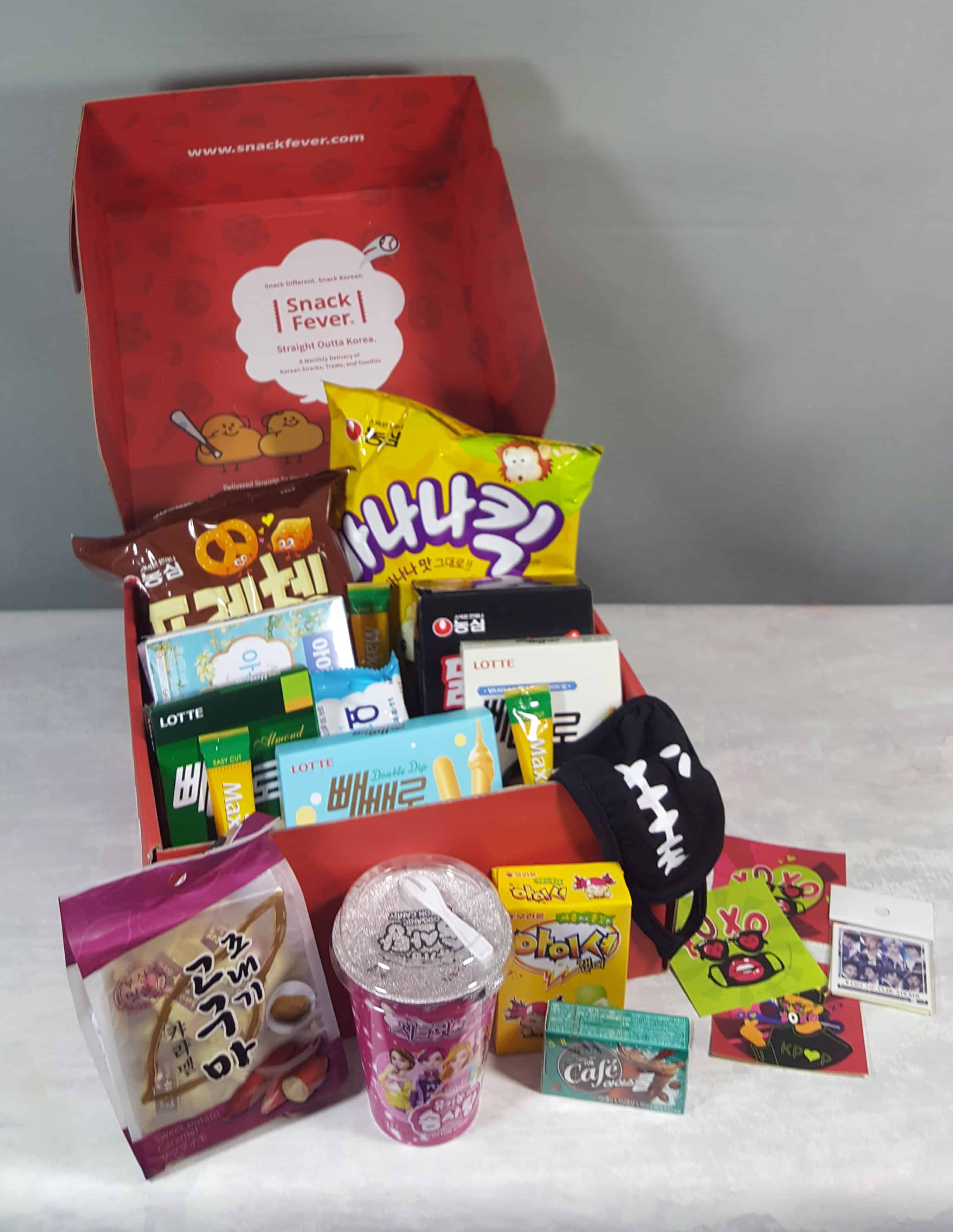 November 2017 Snack Fever Subscription Box Review + Coupon – Deluxe Box