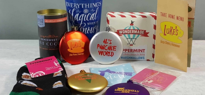 Stars Hollow Monthly Subscription Box Review – December 2017