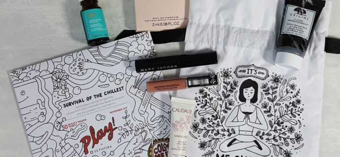 PLAY! by Sephora Subscription Box Review – November 2017