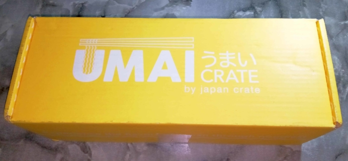 Umai Crate January 2018 Subscription Box Review + Coupon