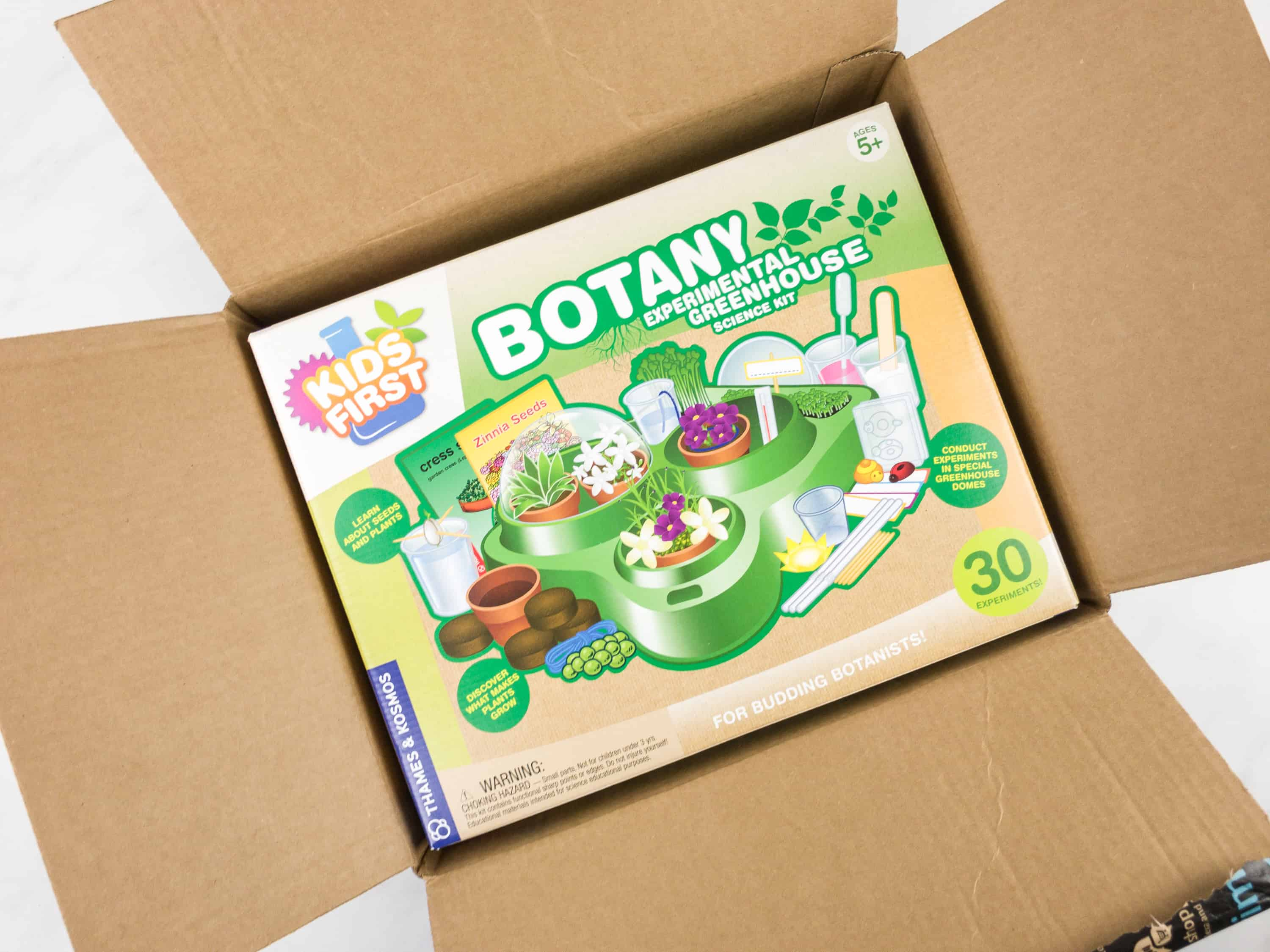 Amazon STEM Toy Club January 2018 Subscription Box Review – 5 to 7 Year Old Box