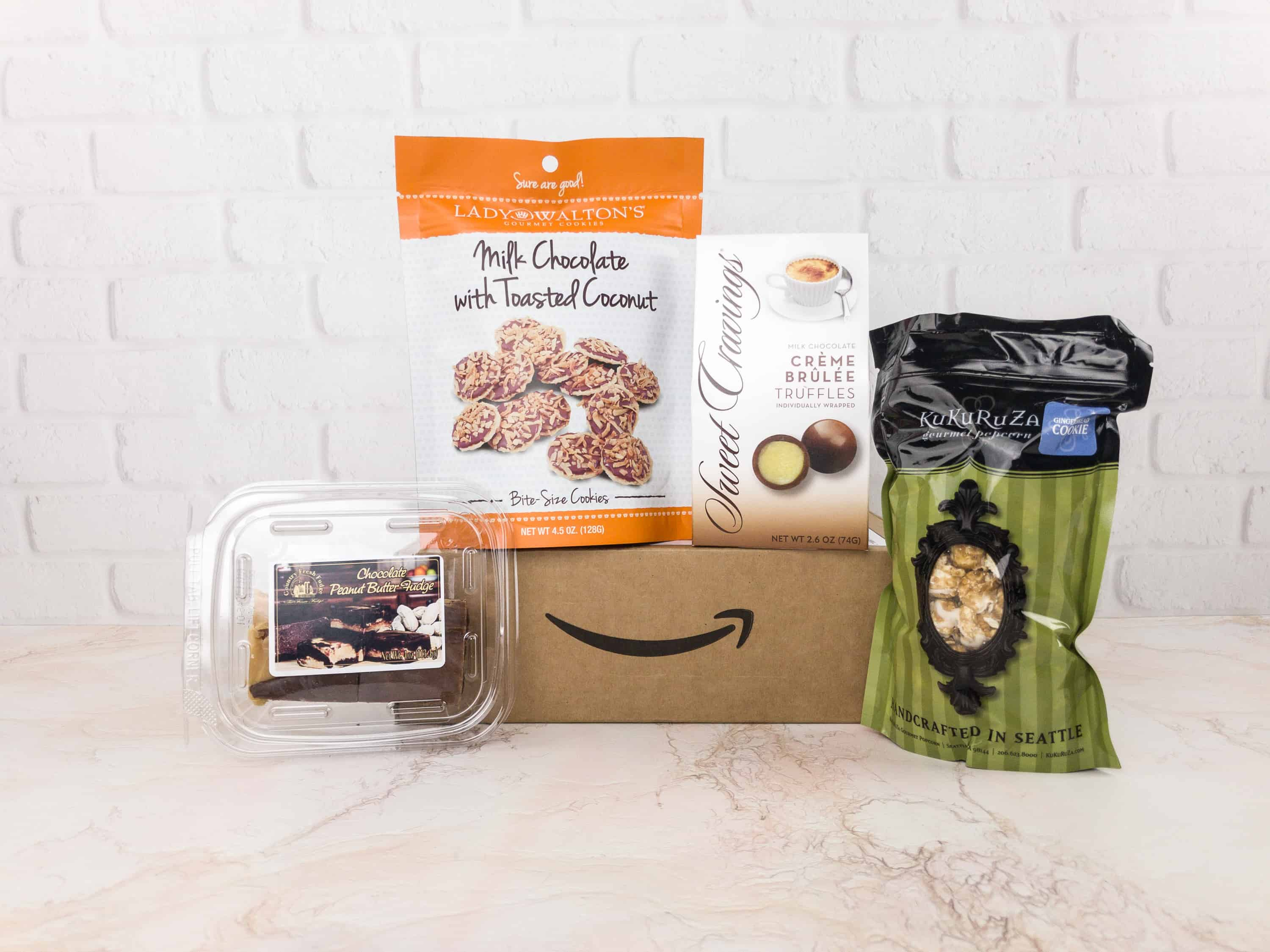 Amazon Prime Surprise Sweets Box January 2018 Review – Final Box