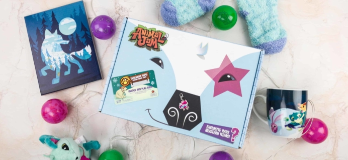 Animal Jam Box Winter 2017 Review