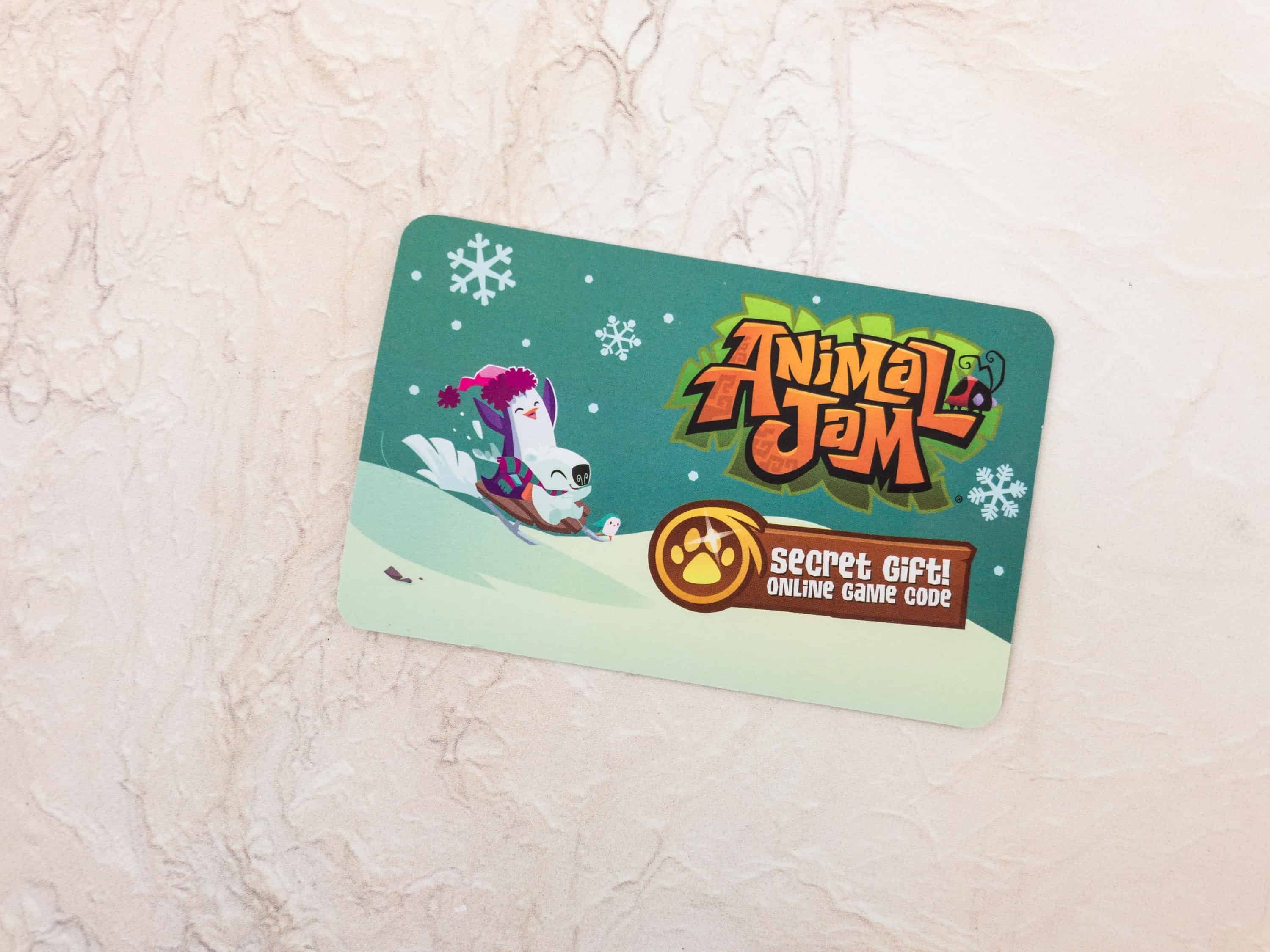 animal jam box winter 2017 review - hello subscription