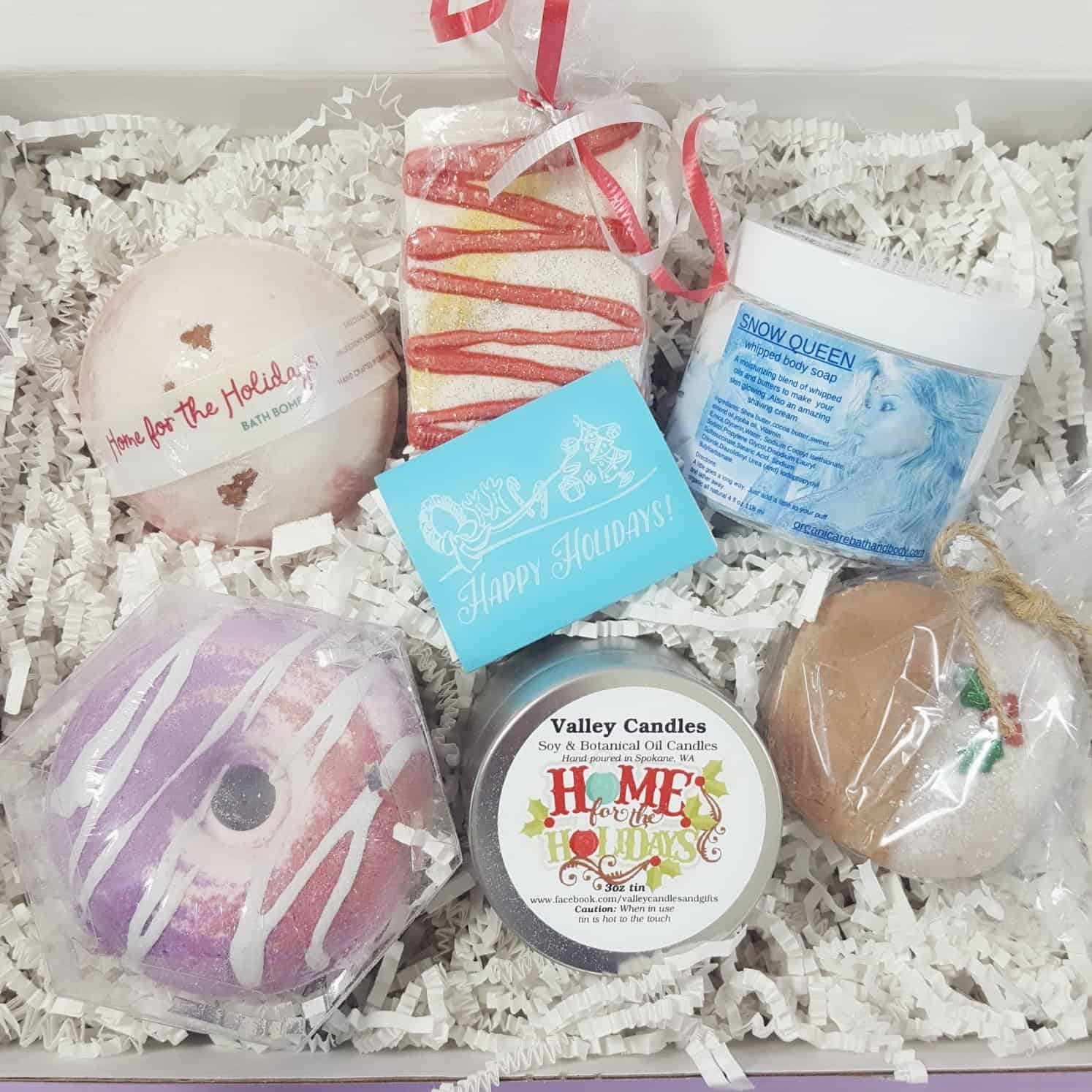 Bath Bevy December 2017 Subscription Box Review + Coupon