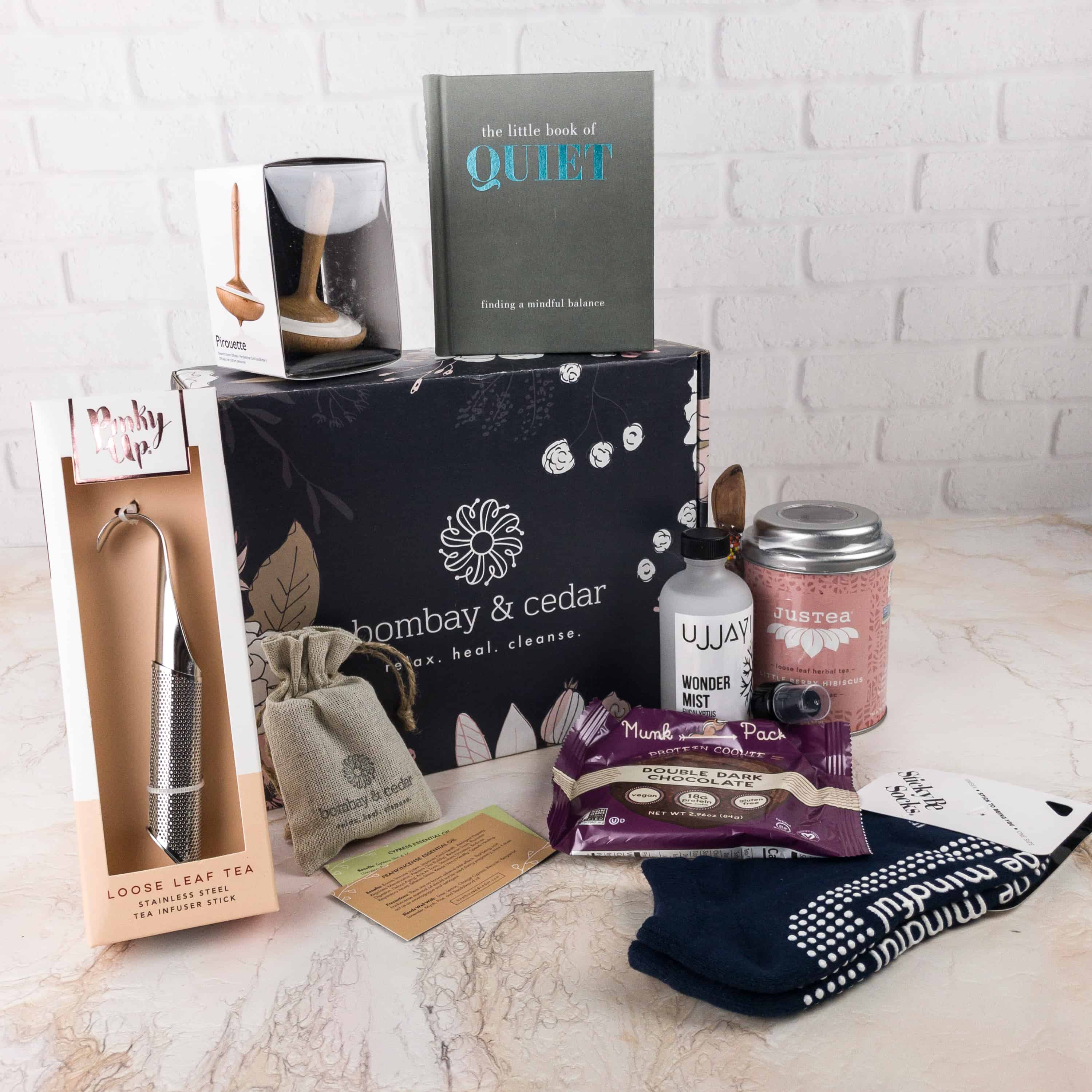 Bombay & Cedar Subscription Box Review + Coupon – December 2017
