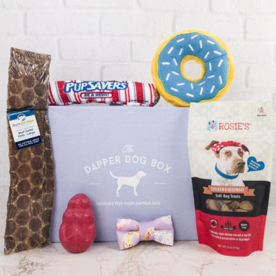 The Dapper Dog Box January 2018 Subscription Box Review + Coupon