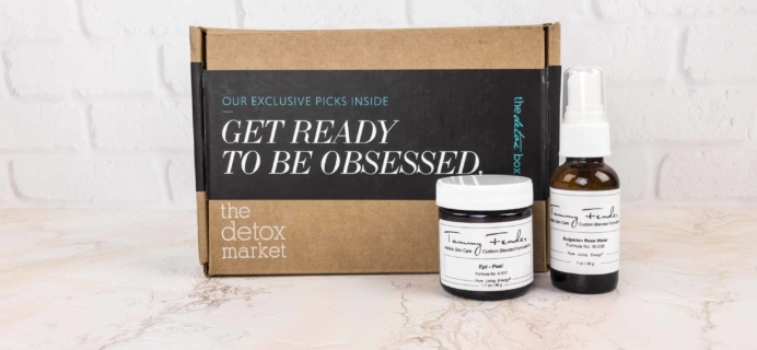 The Detox Box Subscription Box Review – January 2018