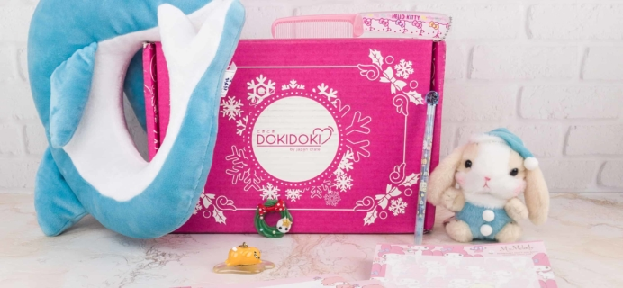 Doki Doki December 2017 Subscription Box Review & Coupon