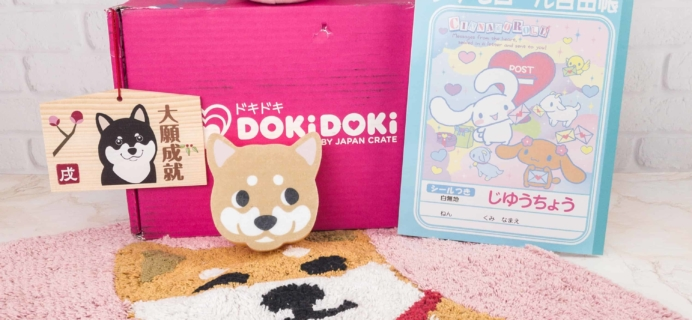 Doki Doki January 2018 Subscription Box Review & Coupon