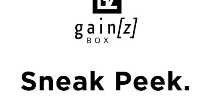 Gainz Box July 2018 Spoiler #2 + Coupon!