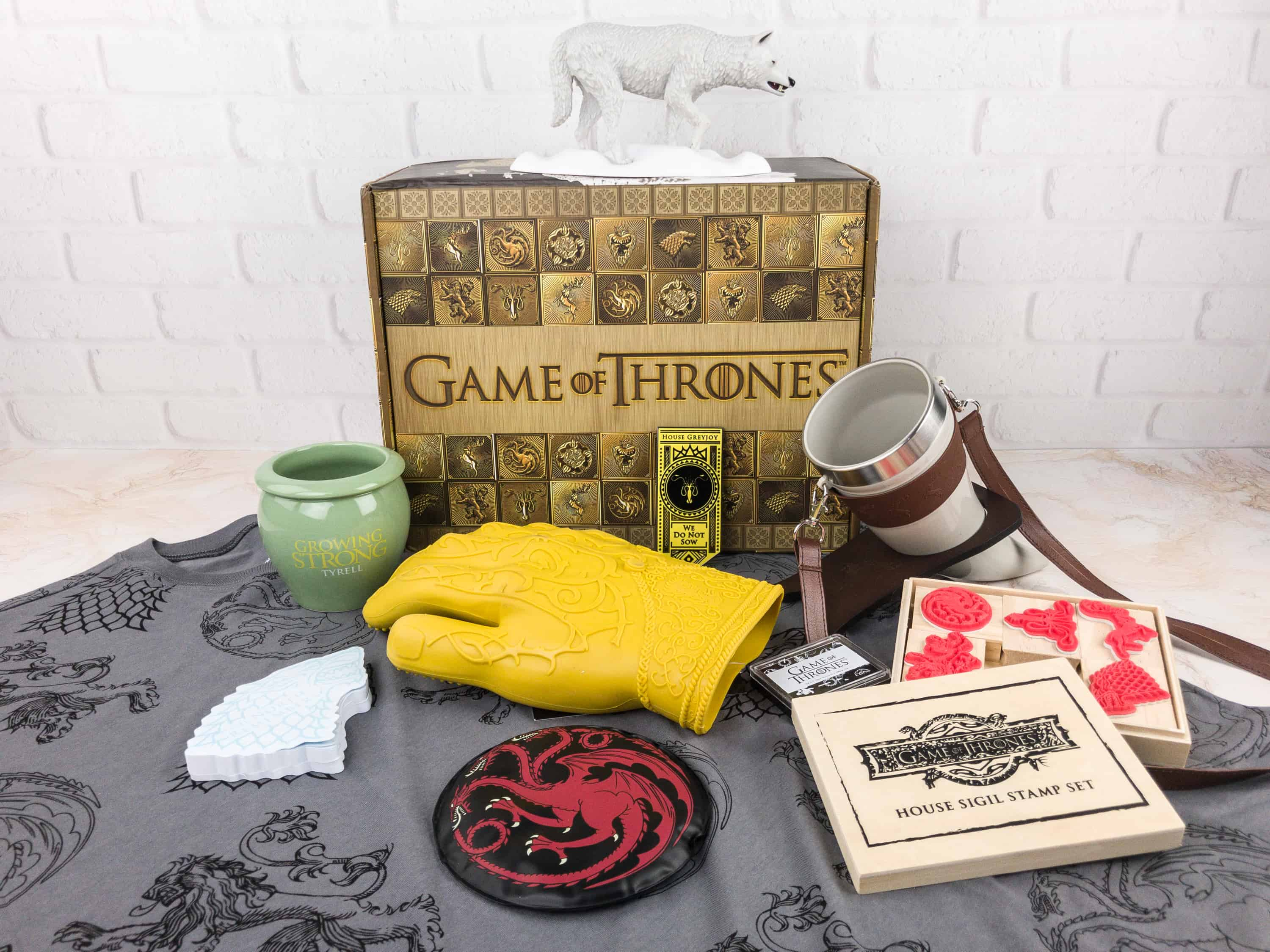 Game of Thrones Box Winter 2017 Review