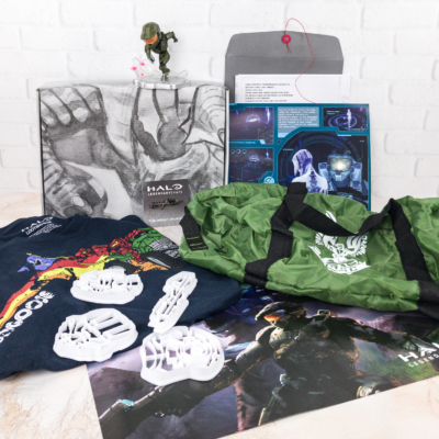 Halo Legendary Crate December 2017 Subscription Box Review + Coupon