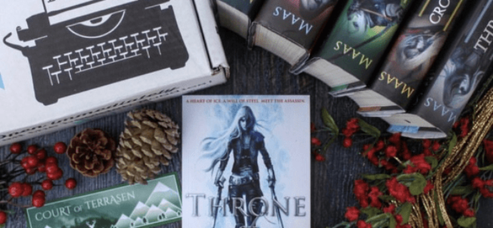 The Bookish Box: Throne Of Glass Limited Edition Box Available Now!
