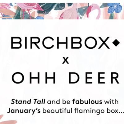 Birchbox UK January 2018: Ohh Deer Collab!