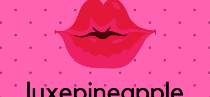 New Subscription Boxes: LuxePineapple Lips + Lashes Available Now + Coupon!