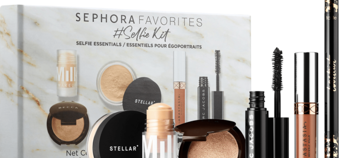 New Sephora Favorites Kit Available Now:  Give Me Some New Lip + Selfie Kit!